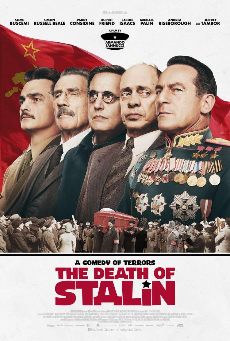 Výsledek obrázku pro death of stalin poster