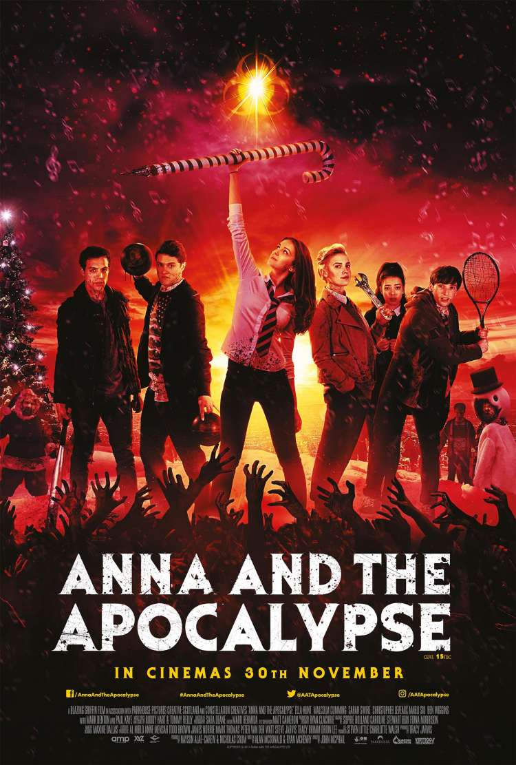 Zombie Christmas Musical.Anna And The Apocalypse